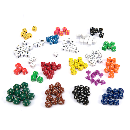 Dice Bulk Value Class Kit 162pcs  large