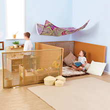 Texture Room Divider Fences 4pcs  medium
