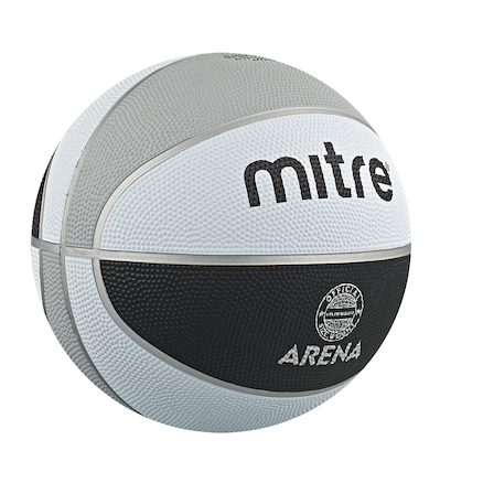 Mitre Arena Nylon Wound Basketball Size 7  large