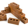 Role Play Foam House Building Bricks  small