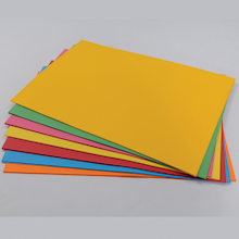Brightly Coloured Card SRA2 200gsm 100pk  medium