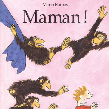 Maman! French Story Book  large