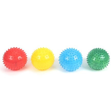 Soft Spikey Balls 13cm 4pk  large