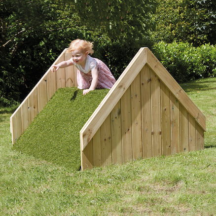 Outdoor Wooden Hill Climb  large