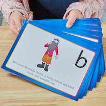Language Enrichment Alliteration Character Cards  medium