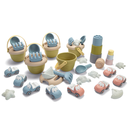 Bio Plastic Sand and Water Set 43pk  large