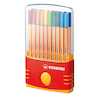 Stabilo\u00ae Point 88 Fineliner Pens and Case 20pk  small