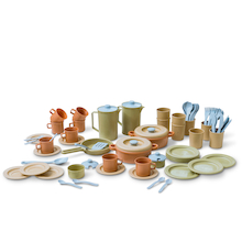 Bio Plastic Role Play Coffee & Dinner Set  medium