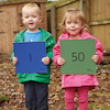 Outdoor Number Mats 1\-50  small