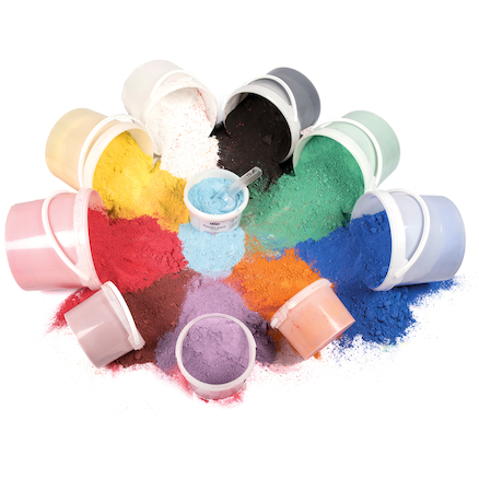 Assorted Powder Paints 2.5kg 6pk  large