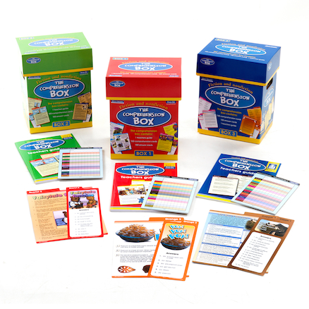 The Comprehension Box Set of 3 Offer  large