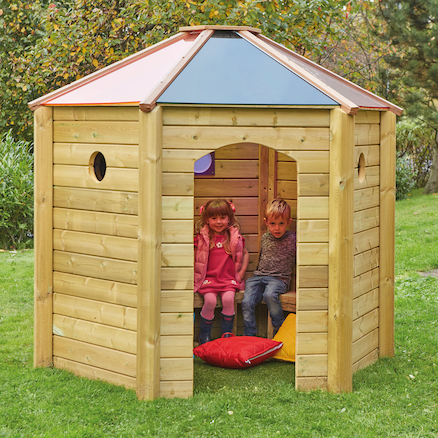 Outdoor Mini Rainbow Den  large
