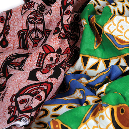African Material Assorted Pieces 1m 2pk  large