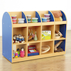 Copenhagen Double Sided Mobile Storage Unit  small