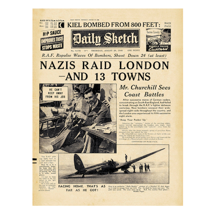 WW2 Wartime Replica Newspaper Collection 3pk  large
