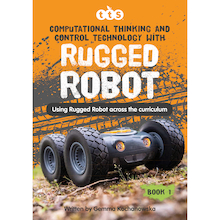 Rugged Robot Activities Book  medium