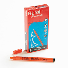 Assorted Berol® Handwriting Pens  medium