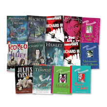 UKS2 Shakespeare Classics Retold Books 14pk  medium