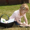 Outdoor Plastic Trugs with Handle 9pk  small