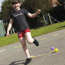 Ankle Skipping Rope 6pk  medium