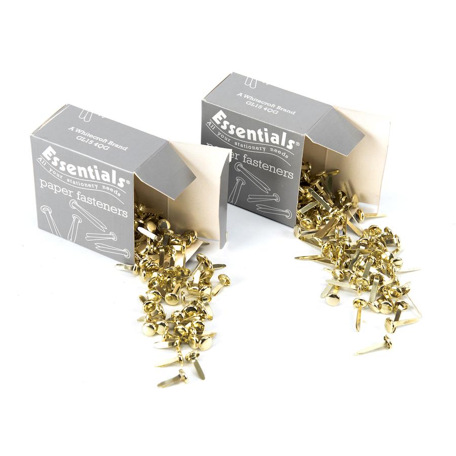 Buy Tub Of Paper Fasteners 400pk Tts