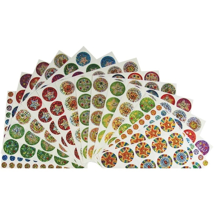 Assorted Sparkly Reward Stickers 567pk  large