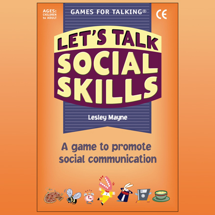 Lets Talk Social Skills Activity Cards 80pk  large