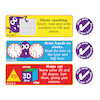 Maths Progress Target Stickers Buy all and Save  small