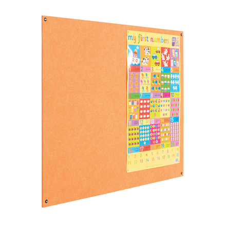 Eco Frameless Noticeboard  large