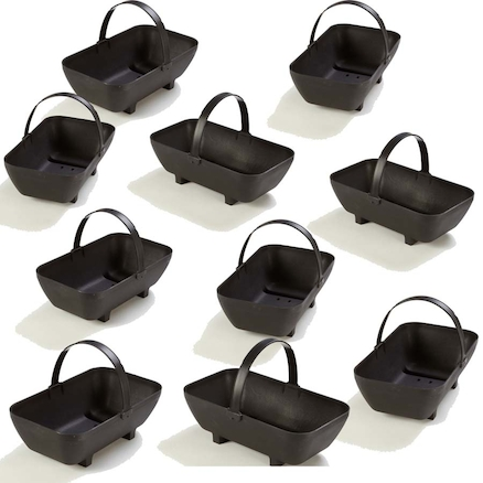 Outdoor Plastic Trugs with Handle 9pk  large
