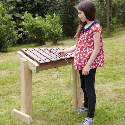 Outdoor Xylophone Table  large