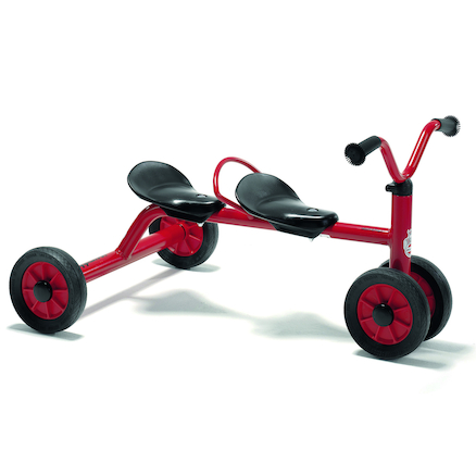 Winther Two Seater Trundle Bike  large