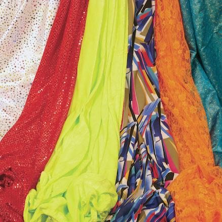 Assorted Fabrics 1 x 1 75m 6pk