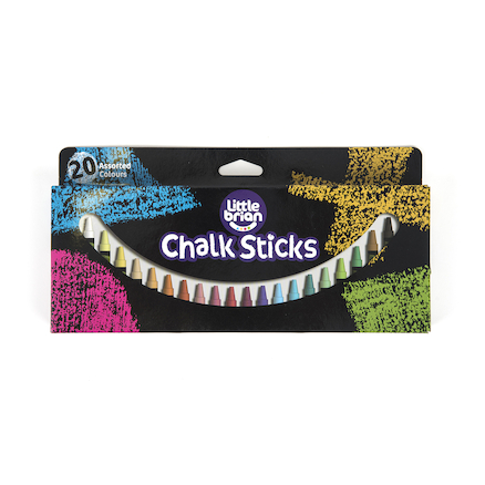 Little Brian Chalk Sticks  large