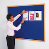 Eco Friendly Wooden Framed Noticeboards  small