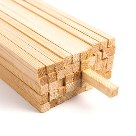 Square Section Wood Packs  large