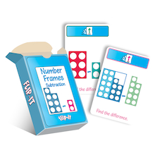 Flip-It Number Frames Cards  medium