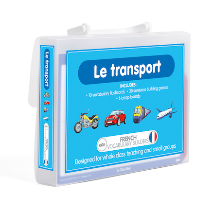 French Vocabulary Builders \- Transport  large