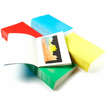 Pisces Stapled Sketchbooks Multicoloured A4 140gsm 40pk  medium