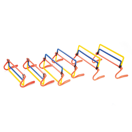 Height Adjustable Hurdles 6pk  large
