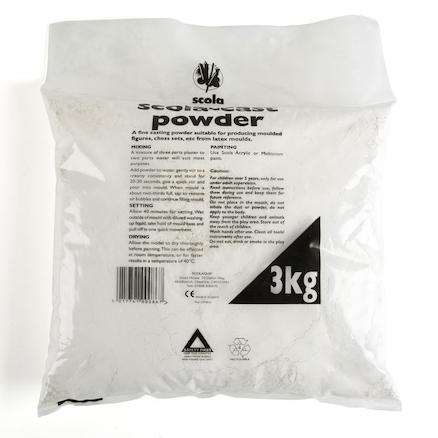 Plaster of Paris  large