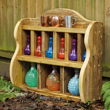 Wooden Concoctions Top Shelf Unit  medium
