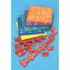 Coloured Foam Silent Dominoes 6pk  small