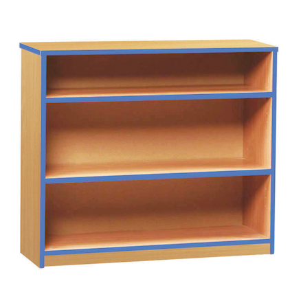 Coloured Edge Bookcases  large
