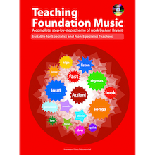 Teaching Foundation Music Book and CD  medium