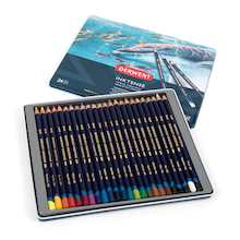 Derwent Inktense Colouring Pencils Assorted 24pk  medium