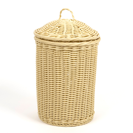 Woven Nesting Storage Baskets with Lids 3pk  large