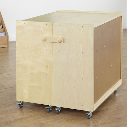 Fold And Lock Storage Cabinet  large