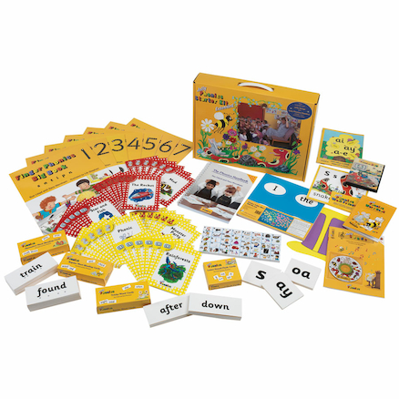 Jolly Phonics Starter Kit  large