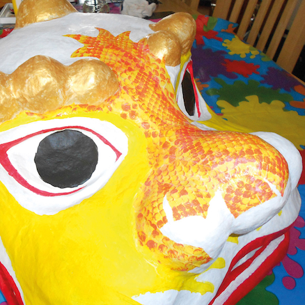 Chinese Dragon Head  large